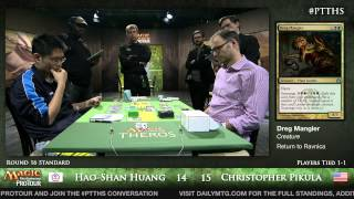 Pro Tour Theros - Standard Round 16 - Hao-Shan Huang vs. Christopher Pikula
