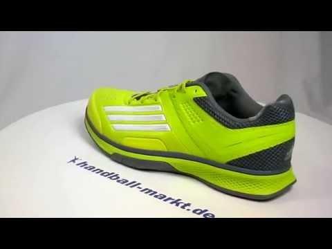 Adidas adizero Counterblast 7 Handballschuhe neon grün