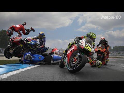 MotoGP 20 - Big Crashes
