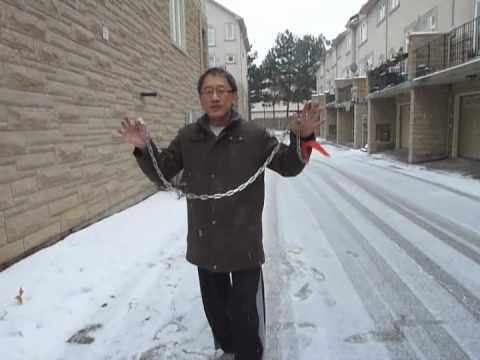 Learn How to Crack a Metal Chain Like a Whip