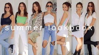 SUMMER OUTFIT IDEAS | Casual And Dressy Lookbook 2020