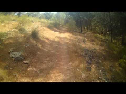 Downhill descenso Sierrecilla Humilladero