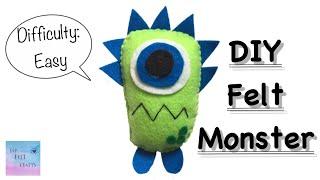 DIY Felt Monster
