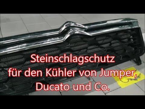 Kühlerschutzgitter für Jumper und Ducato - Clever Runner 636 #43