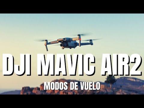 Modos de vuelo DJI Mavic Air 2