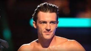 Drake Bell gets frustrated on Splash