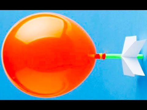 3 Simple Science Experiments from Balloons