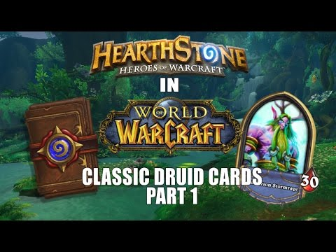 Classic Druid Cards (Part 1)