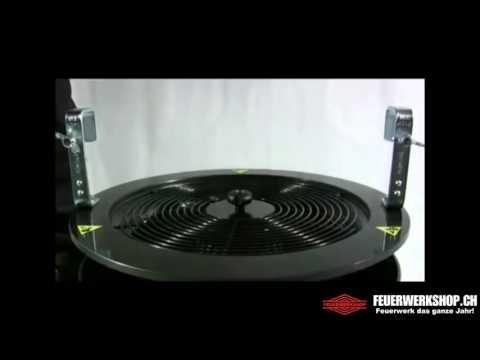 Konfettimaschine MagicFX Confetti Swirl Fan XL