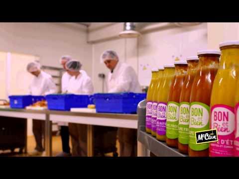McCain soutient l'emploi local et lutte contre le gaspillage alimentaire avec « BON et BIEN »
