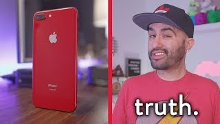Review: The Truth Behind RED Apple iPhone 8 Plus...