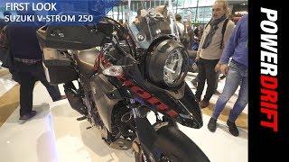2018 Suzuki V Strom 250 : EICMA 2017 : PowerDrift