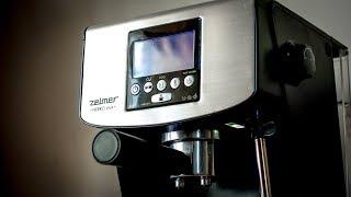 Zelmer Nero Plus 13Z016 - Как приготовить латте или капучино
