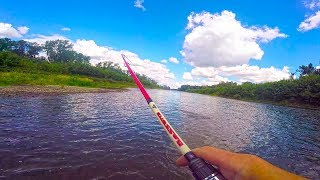 Рыбалка на речке из детства .Ловля на вертушки. Рыбалка на малых реках