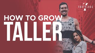 HOW TO GROW TALLER! ADVICE FROM A 7 FOOT GUY! | 7footvlogs