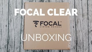 Unboxing: Focal Clear Headphones