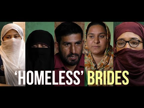 'Homeless' brides