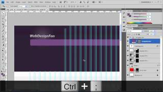 Hướng dẫn thiết kế layout Web portfolio với Photoshop - Phần 1