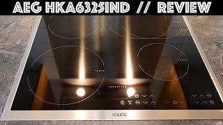 Autarkes Induktionskochfeld AEG HKA6325IND + Schutzboden PBOX-6IR // TEST (1/2)