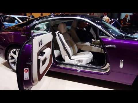 Rolls-Royce Wraith at IAA motor show, Frankfurt / Germany - Autogefühl Autoblog
