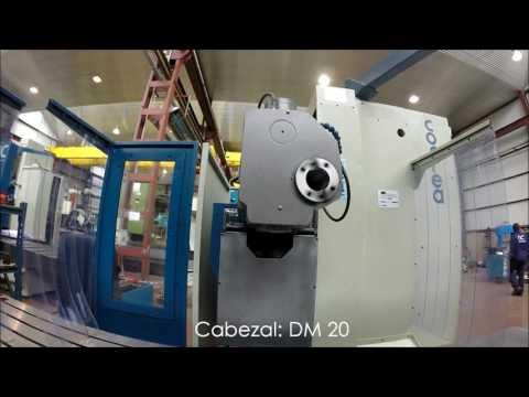 Fresadora bancada Correa CF20/20 reconstruida por NC Service