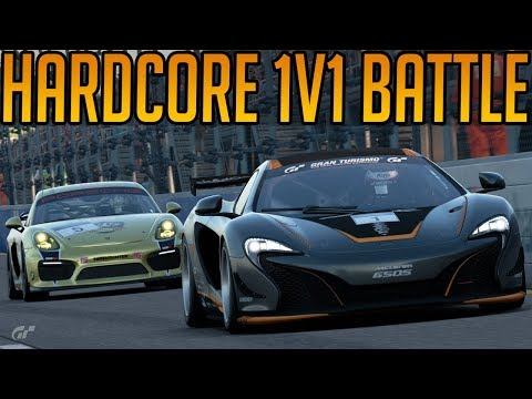 Gran Turismo Sport: The Hardest 1V1 Battle