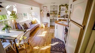 Spacious RV CONVERTED into  Gorgeous TINY HOME
