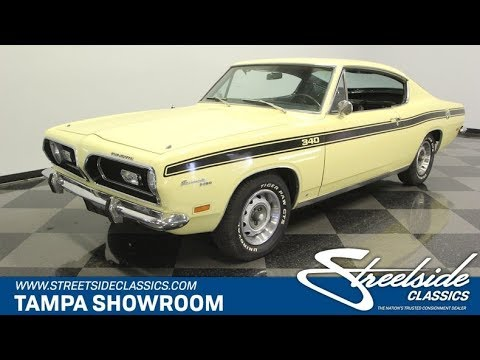 Video of 1969 Plymouth Barracuda located in Lutz Florida - $32,995.00 Offered by Streetside Classics - Tampa - PXAO