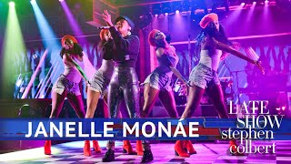 Janelle Monae Performs 'Make Me Feel'