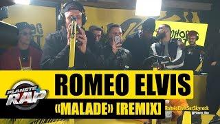 """Roméo Elvis """"Malade"""" [Remix] #PlanèteRap"""