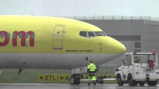 preview picture of video 'Flughafen Hannover Langenhagen (HAJ) - Unterwegs in Niedersachsen - SHORTY'