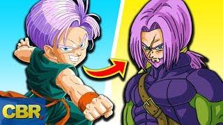 Trunks  - (Dragon Ball) - The Evolution Of Trunks From Dragon Ball
