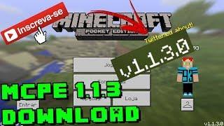 minecraft pe 1 3 download