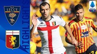 Lecce 2-2 Genoa | Pandev show, poi il Lecce recupera | Serie A