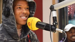 Nasty C Freestyles And Talks #StringsAndBling Album With Damon