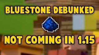 Confirmed: Bluestone  Cobalt NOT Coming In Minecraft 1.15