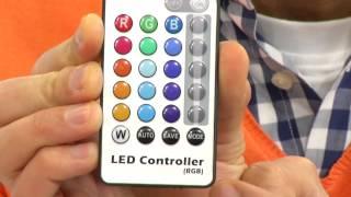 Lunartec LED-Lichtleiste mit Bewegungsmelder, warmweiß, 4er-Set