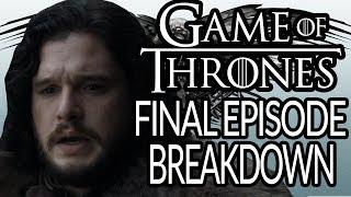 GAME OF THRONES Season 8 Episode 6 Breakdown, Recap and Theories | The Iron Throne | Final Episode