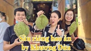 #63: Quý bà con ủng hộ sầu riêng Khương Dừa không kịp bán. Vân tự tay bổ sầu riêng  và cái kết...😅
