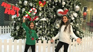Kids Christmas Shopping AT the mall!! funny holidays toys