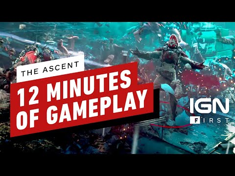 The Ascent montre son gameplay sur Series X de
