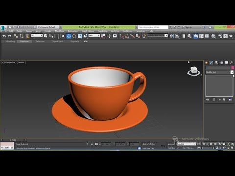 Coffee Cup – 3ds Max Modeling Tutorial