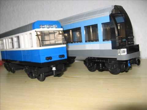 Lego Münchner U-Bahnen (sub way) A- B-und C-Serie