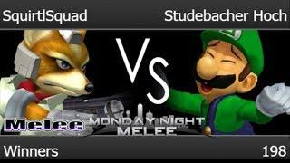 MNM 198 - SquirtlSquad (Fox) vs TLOC | Studebacher Hoch (Luigi) Winners - Melee