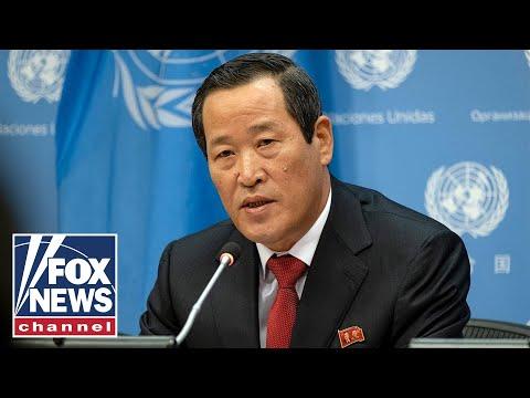 North Korea ambassador ignores Fox News' question on Otto Warmbier