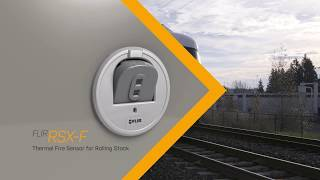 FLIR RSX-F Thermal Fire Sensor for Rolling Stock