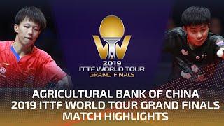 Lin Gaoyuan vs Lin Yun-Ju | 2019 ITTF World Tour Grand Finals Highlights (1/4)