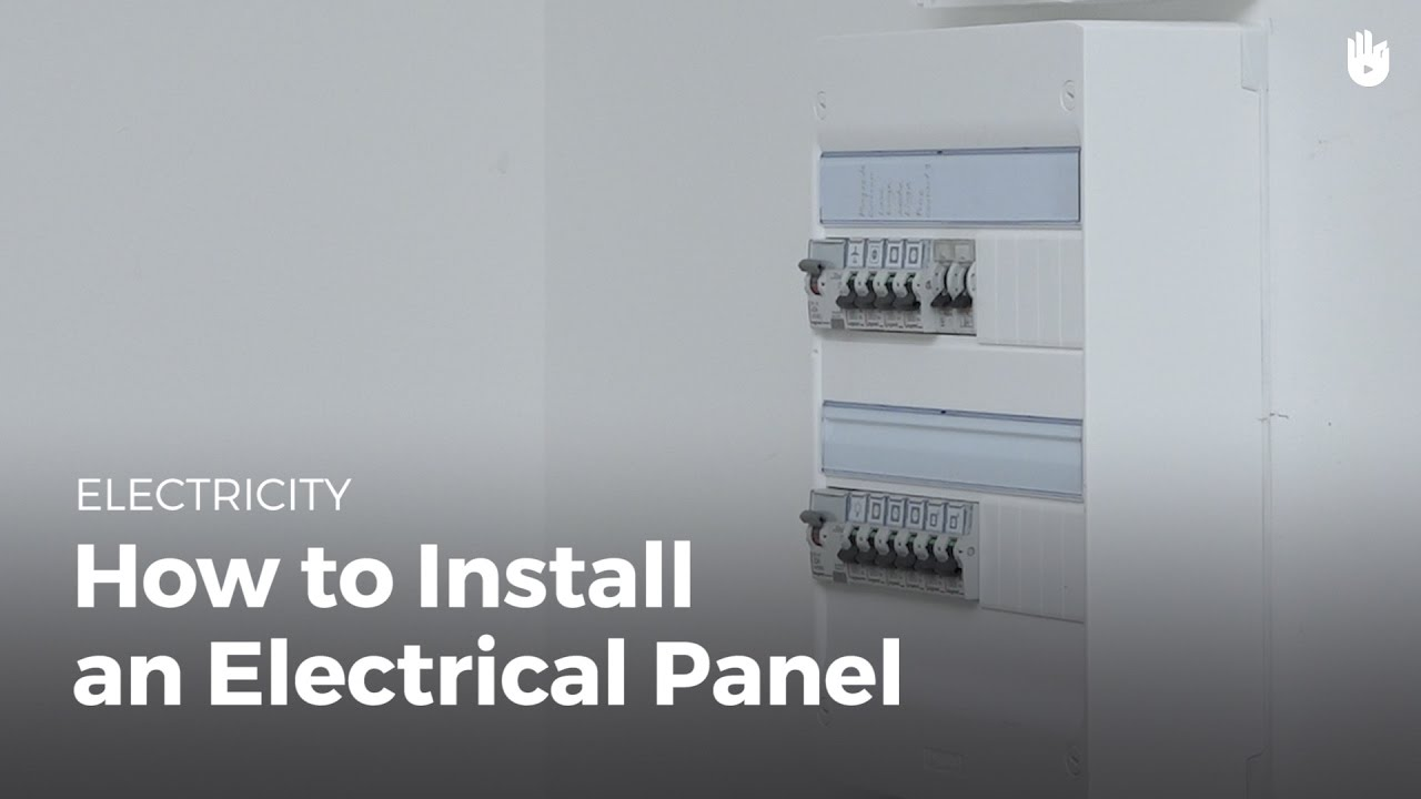 How to Install an Electrical Panel - Electricity for Everyone: Basic ...