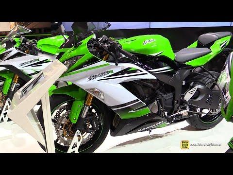 2015 Kawasaki Ninja ZX-6R 636 - Walkaround - 2014 EICMA Milan Motorcycle Exhibition
