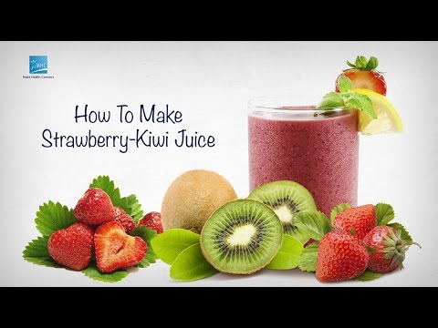 Video Strawberry Kiwi Juice